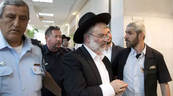 Tel Aviv – INDICTED: Nati Grossman Of HaPeles Newspaper Along With Many Others