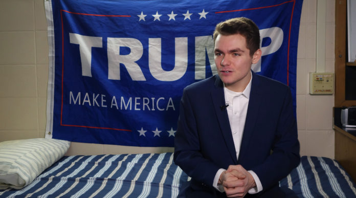 White Nationalist Nick Fuentes' YouTube Channel Is Banned For Hate Speech