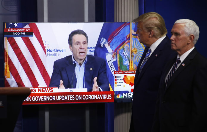 Trump Says He Will Help Ny's Cuomo Secure More Virus Testing