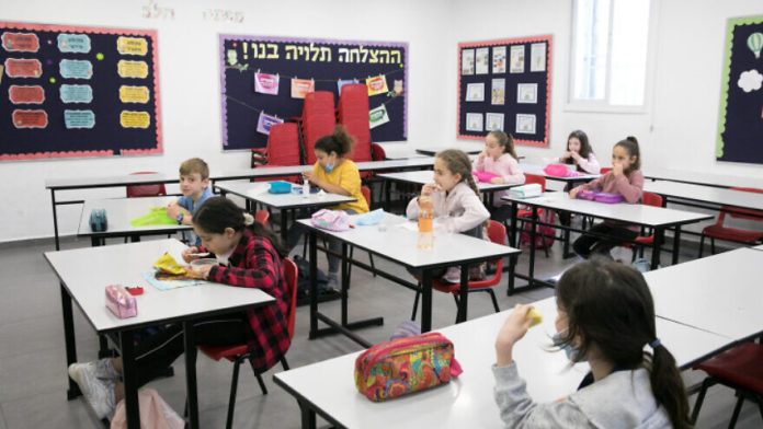 Israeli Kids Head Back To Class As Schools Cautiously Reopen 1