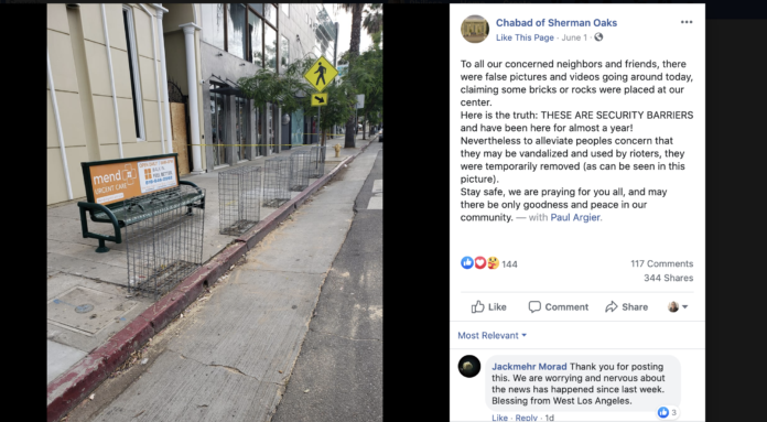 Rumor That A Los Angeles Chabad Is Fueling Antifa Gets Brief White House Amplification