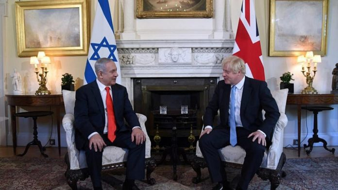 Boris Johnson: London Will Not Recognize Israeli Sovereignty