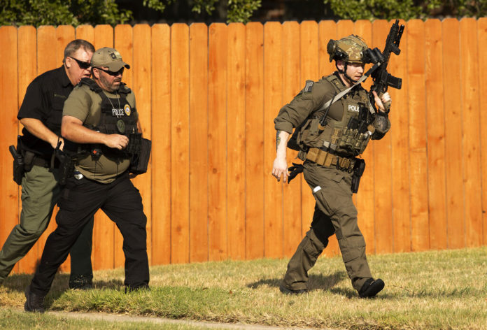 Texas Police Say 3 Officers Shot, But In Stable Condition