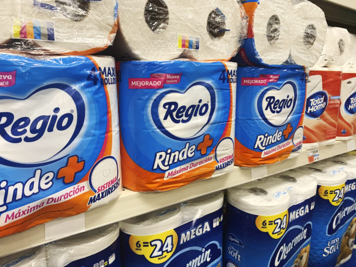 Pandemic Brings Toilet Paper From Mexico To American Stores 2