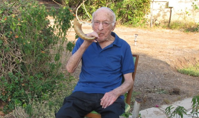 David Bannett, Haganah Agent, Inventor Of Shabbos Elevators, To Blow Shofar For 82nd Time 1