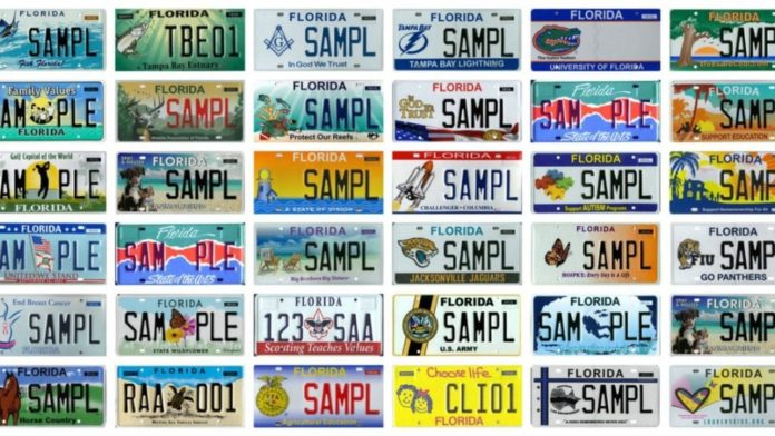 Florida Will Offer Specialty License Plate That Supports Israel 1