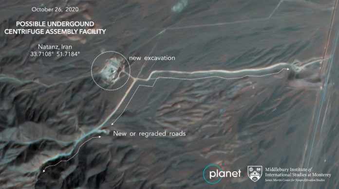 Satellite Photos Show Construction At Iran Nuclear Site 1