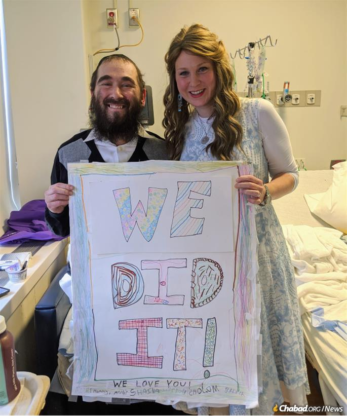 WATCH: Chabad Covid Survivor Rabbi Yudi Dukes Returns Home To Emotional Reception After 242 Days In The Hospital, Visits The Ohel 1