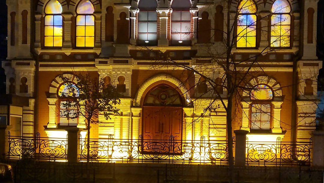 European Synagogues Keep On Their Lights To Mark 1938 Kristallnacht Pogroms 2