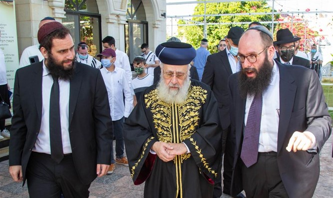 Photos: Israel's Chief Rabbi Makes History With Visit To UAE 1