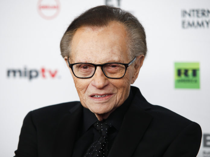 Report: Talk Show Host Larry King In Hospital With Covid-19