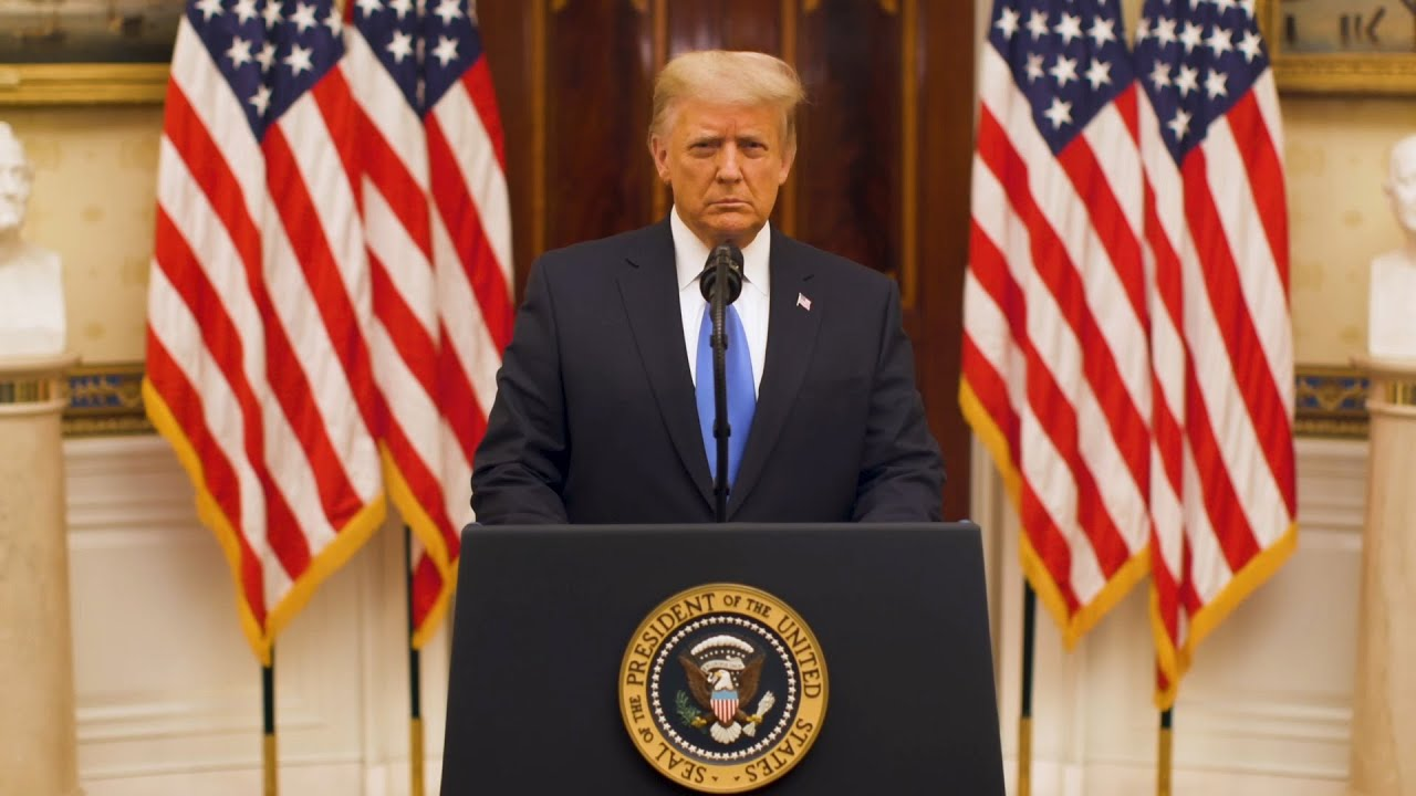 WATCH: Farewell Address Of President Donald J. Trump