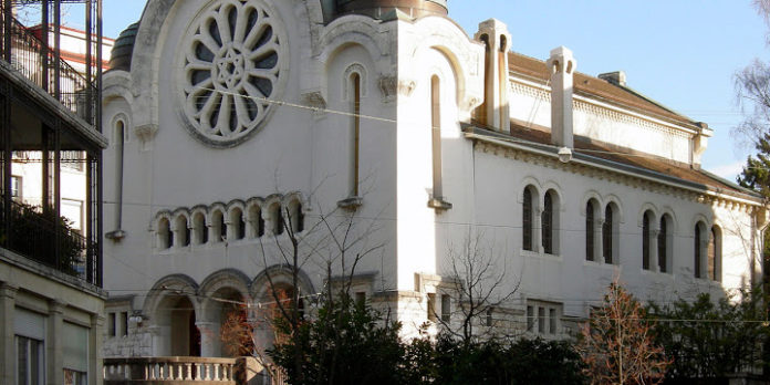 Pig Meat Left Outside 2 Swiss Synagogues 1
