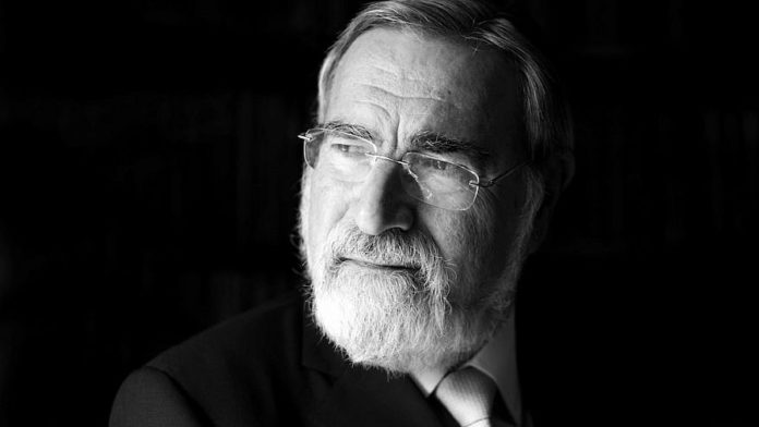 Genesis Prize Foundation To Honor Life And Legacy Of Rabbi Lord Jonathan Sacks
