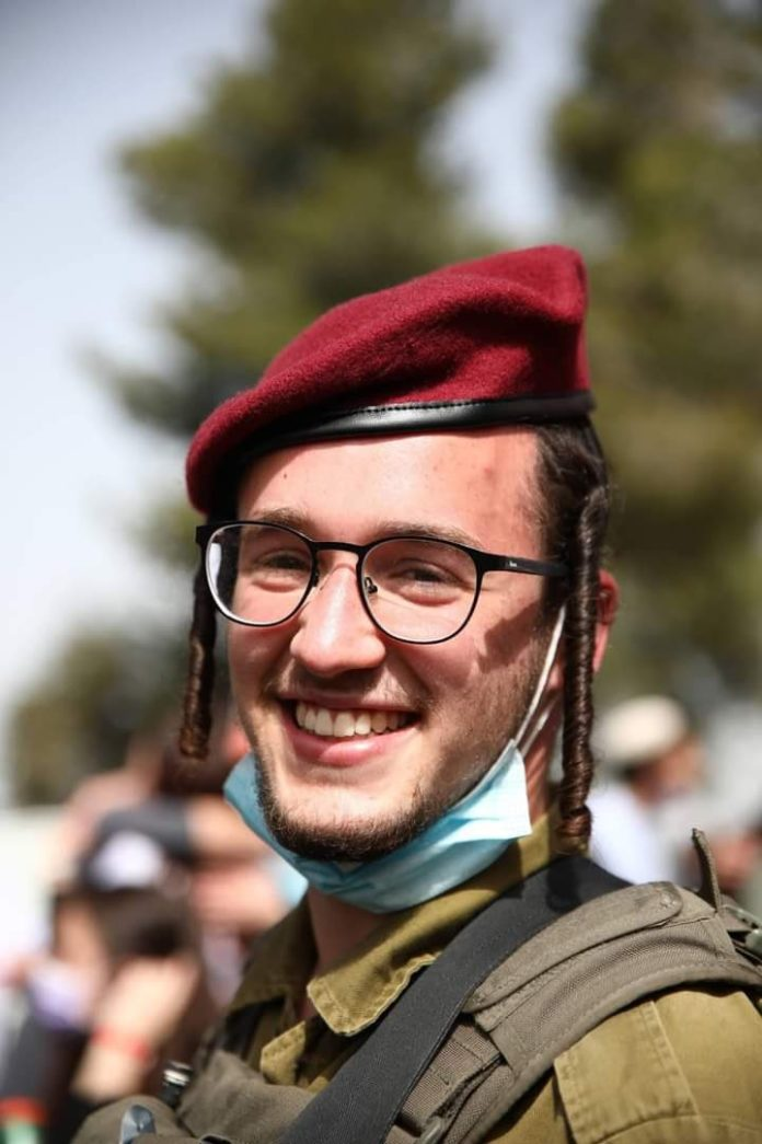 Watch: Chareidi Paratroopers Train In Yiddish 11