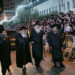 Thousands Attend 'Kabulas Punim' For Satmar Rebbe In Jerusalem
